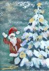 Weihnachten im Wald - Weihnachtskarte
